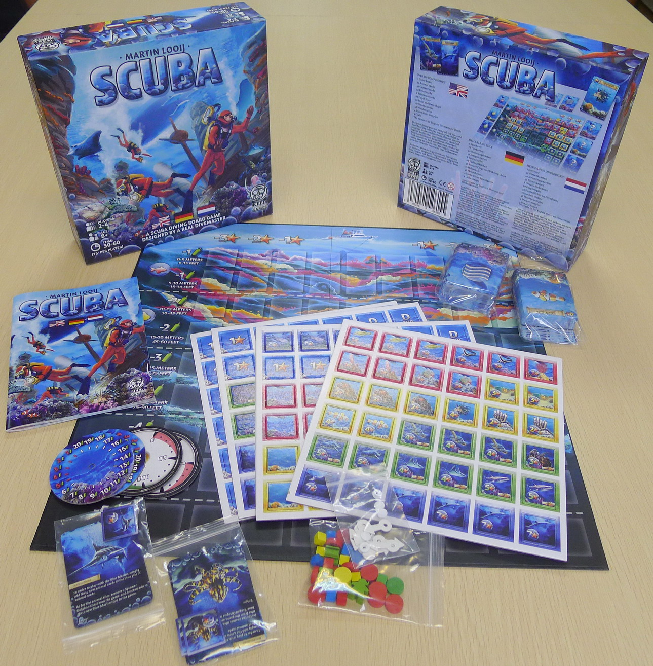 Scuba sample