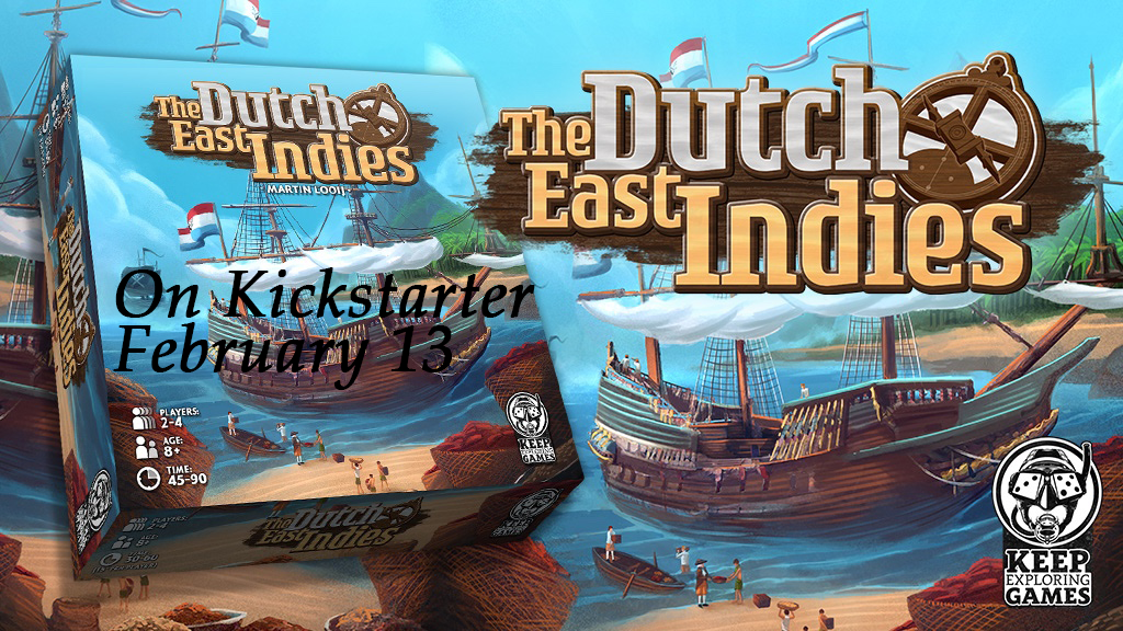 Dutch East Indies on Kickstarter