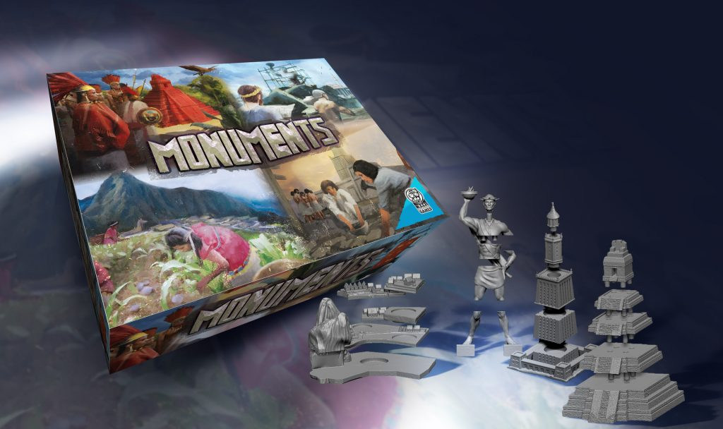 Monuments board game